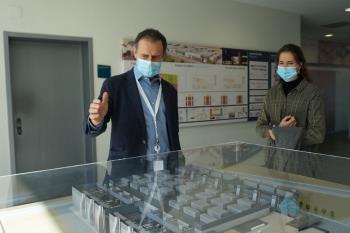 El jefe de Ingeniería de Nabiax nos enseña el Data Center de la empresa en Alcalá