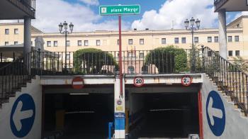 La iniciativa se ha puesto en marcha en los parkings de Plaza Mayor y Plaza Padre Vallet