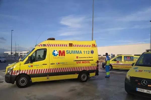 Se encuentra ingresado en estado grave en el hospital Gregorio Marañón