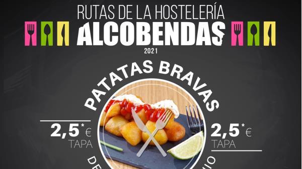 ¡Apúntate a la ruta de las patatas bravas de Alcobendas!