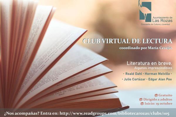 ¡Apúntate al club de lectura para adultos de las bibliotecas de Las Rozas!