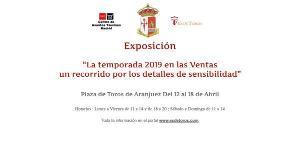 Aranjuez acoge una exposición de los mejores momentos taurinos en Las Ventas