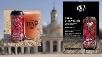 Tenta Brewing Co.® presenta la primera cerveza artesana mezclada con el producto local por excelencia de Aranjuez