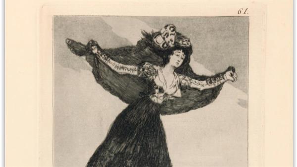 La muestra se puede visitar en la Sala Godoy del Teatro Real Carlos III desde el día 2 de este mes