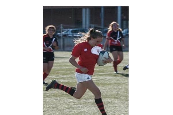 La jugadora vuelve a ser convocada después de haberlo sido en enero para la Selección Sub-18 Femenina de la Federación de Rugby de Madrid