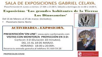 El Centro Cultural Gabriel Celaya acoge la nueva muestra