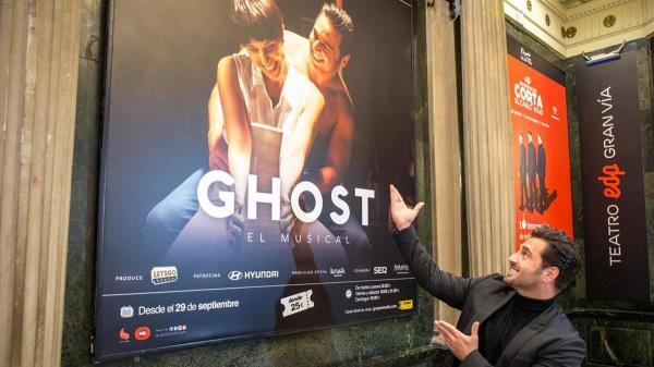 David Bustamante protagonizará 'Ghost' en el Teatro EDP Gran Vía