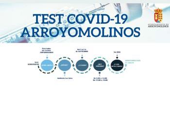 Los empadronados podrán acudir a realizarse las pruebas del 5 al 14 de septiembre al Auditorio Municipal