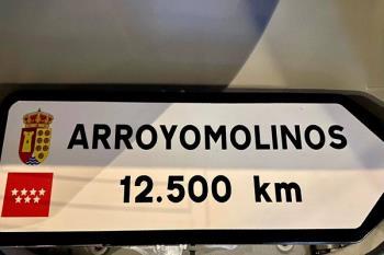El continente tendrá un cartel con el nombre del municipio, pues el vecino Alberto Galán lo hará posible