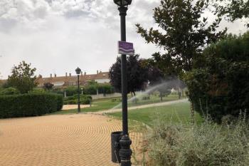 El coste de este tipo de riego supone un ahorro para el Ayuntamiento