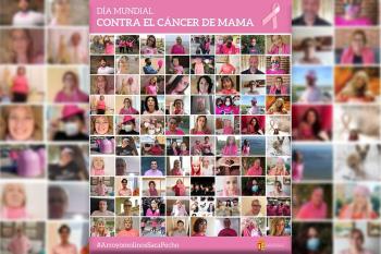 La campaña #SacaPecho de Ecovidrio da visibilidad a este cáncer con contenedores rosas