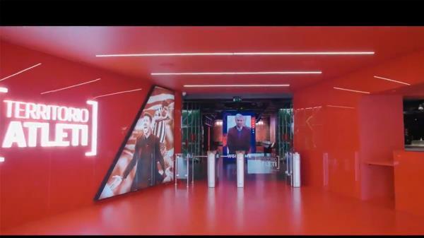 Mediapro Exhibitions ha hecho un nuevo museo para el Atlético de Madrid donde combina la historia del club con la última tecnología