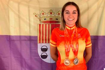 Top-5 nacional en la categoría Junior y alzándose con varias medallas en el nacional de pista