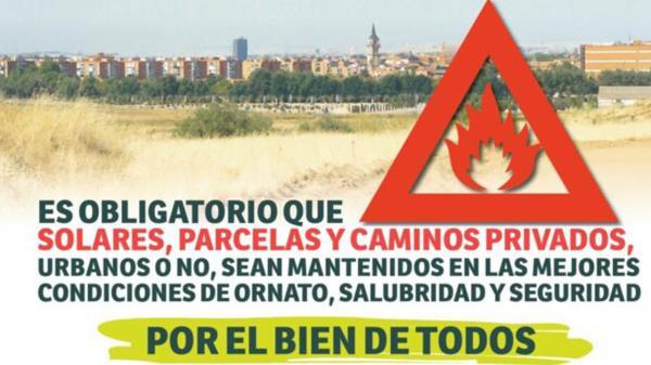 La Concejalía de Medio Ambiente de Alcalá inicia la campaña de desbroces de parcelas