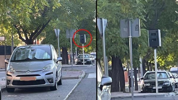 Parece que Alcalá se está llenando de dispositivos para controlar la velocidad de los vehículos