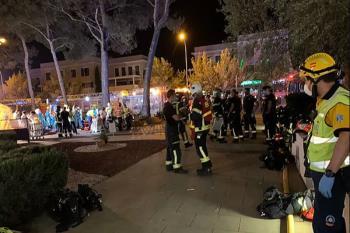 El fuego originó en un sofá de la tercera planta del edificio