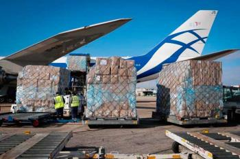 La carga se compone de 3,7 millones de unidades de mascarillas FFP2 y guantes