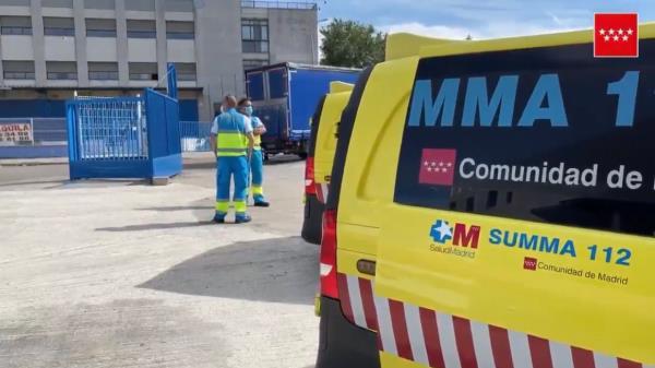 El varón de 65 años trabajaba para una empresa logística del municipio