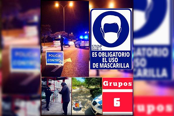 Aumenta el control policial en Arroyomolinos