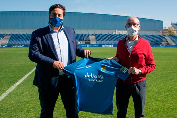 La empresa seguirá patrocinando al Fuenlabrada en Segunda división