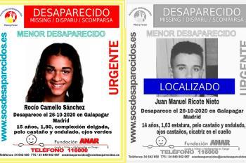 Rocio Camello desapareció el pasado 26 de octubre de 2020