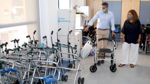 Sillas de ruedas, andadores, camas articuladas, tabletas…