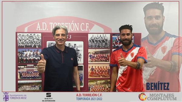 El hasta ahora capitán de la RSD Alcalá ha fichado por el club torrejonero tras quedar libre
