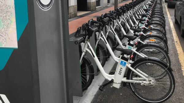 A día de hoy se han sustrído 264 bicicletas.
