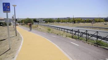El Ayuntamiento ha mejorado la senda que une la calle Monteamor y la avenida Condesa de Chinchón