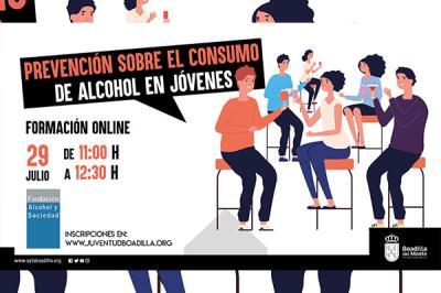 Lee toda la noticia 'Boadilla convoca una charla online sobre prevención del consumo de alcohol en menores'