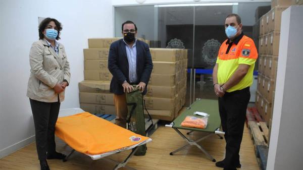 El Alcalde de Boadilla ha comunicado que enviará distinto material de ayuda a Las Palmas tras la erupción del volcán