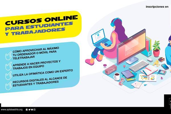 Boadilla ofrece formación online para aprovechar al máximo la cuarentena
