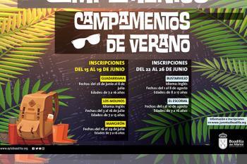 Los campamentos de verano se realizarán en el ámbito geográfico de la región