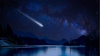 El meteoro, que fue avistado sobre las diez de la noche, cruzó el cielo de la capital