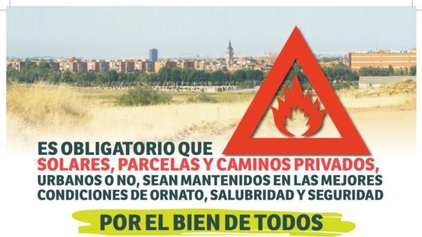 Ha comenzado la campaña de desbroces en el municipio para evitar incendios por las altas temperaturas