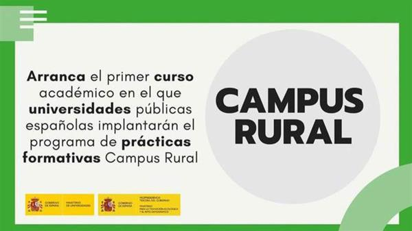 Con la primera edición del programa Campus Rural