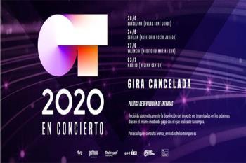 Ante la incertidumbre por la pandemia de coronavirus, llevan a la productora del programa y empresas organizadoras a cancelar la gira de este año