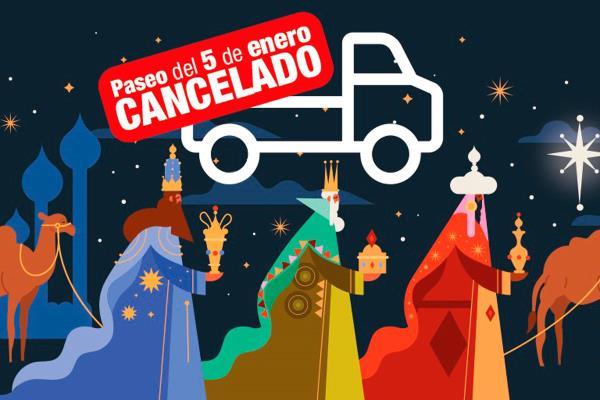 Cancelado el paseo de los Reyes Magos previsto para el 5 de enero en Valdemoro
