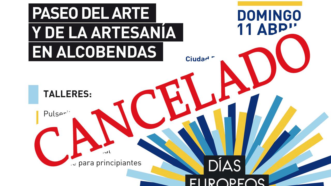 La actividad estaba prevista para este 11 de abril en Alcobendas