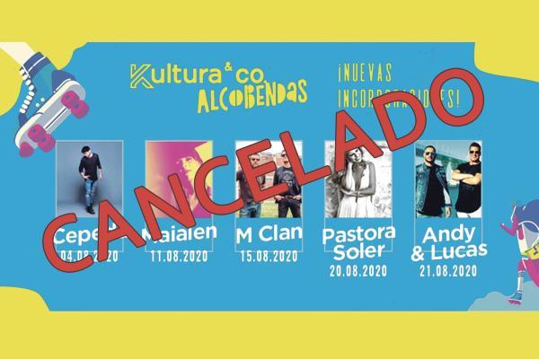 Cancelados los conciertos del