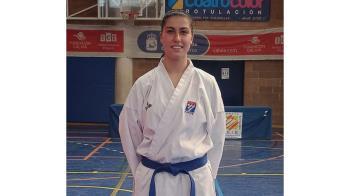 La karateca se está preparando para el próximo Campeonato de Europa en Finlandia