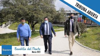 Opinión|Tribuna abierta de Javier Úbeda Liébana, Alcalde popular de Boadilla
