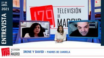 Irene y David denuncian la pasividad de las administraciones en el caso de acoso su hija Candela de 9 años