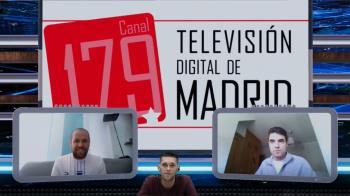 Los entrenadores del CB Alcalá, Ángel y Álvaro, repasaron en TV de Madrid sus éxitos más recientes