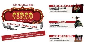 Pinto presenta un amplio programa de circo