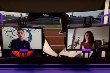 La joven atleta alcalaína repasa en Televisión de Madrid su pasión por el triatlón, sus objetivos y la salud del atletismo