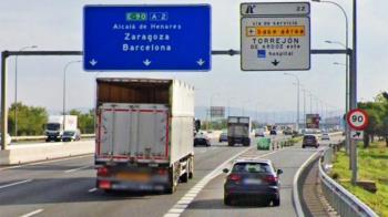 Debido a los trabajos de ampliación del ramal de acceso a la carretera de la Base