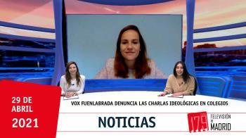 La portavoz de Vox en Fuenlabrada, Isabel Pérez, nos acerca los detalles de la moción que su partido llevará a Pleno