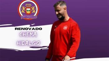 Hidalgo llegaba al equipo a comienzos de esta pasada temporada y consiguió un meritorio ascenso a 3ª División RFEF