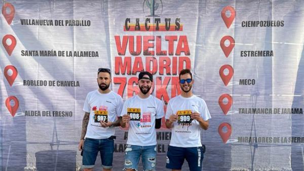 Compitió en la modalidad de 'trío bici mixta' junto a Riki Corberan y Enrique Cuadrado, este último también residente en Torrejon de Ardoz, y quedaron en segundo lugar